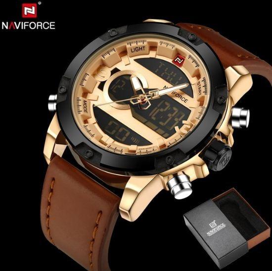 Relógio Naviforce 9097 Caixa Original De Fabrica Pt Entrega
