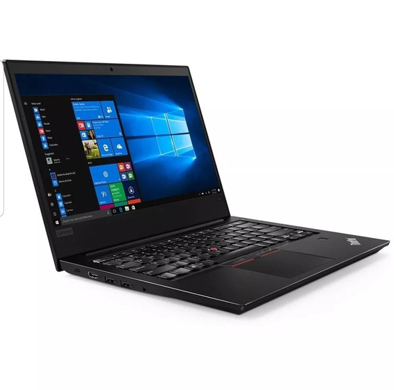 Notebook Lenovo Thinkpad E480 Ssd 256gb I5 8250u 8/gen 8gb