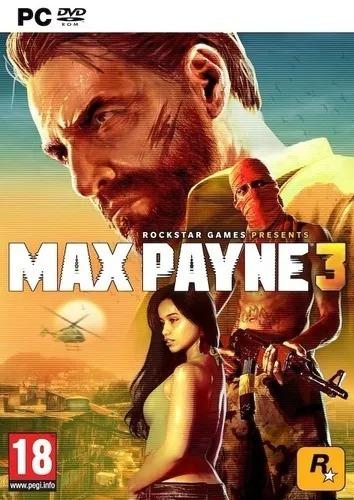 Max Payne 3 Pc Frete Grátis + Expansão Dlc + Português