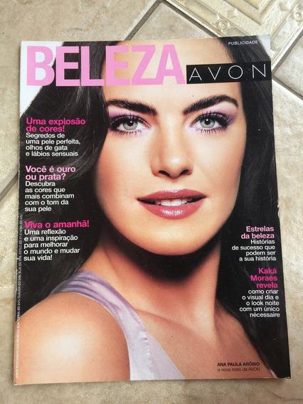 Revista Beleza Avon Ana Paula Arósio Beleza E535