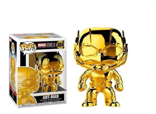 Funko Pop! Ant-man Chrome 384 - Marvel Studios Muñeco