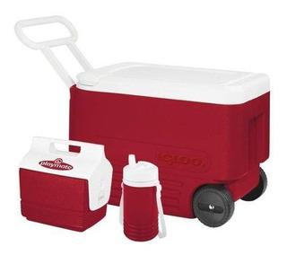 Combo Wheelie Cool 38 Vermelho - Igloo