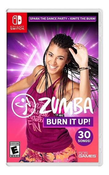 Zumba Burn It Up! - Mídia Física - Switch - Novo