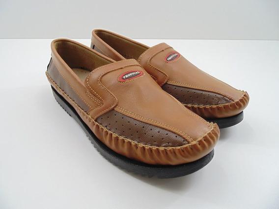 Sapato Sapatilha Mocassim Tropical Masculino Adulto Tradicio