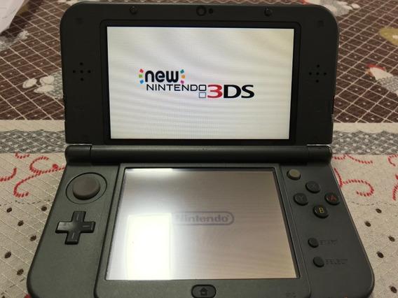 New Nintendo 3ds Xl C/ 3 Jogos Originais + Estojo