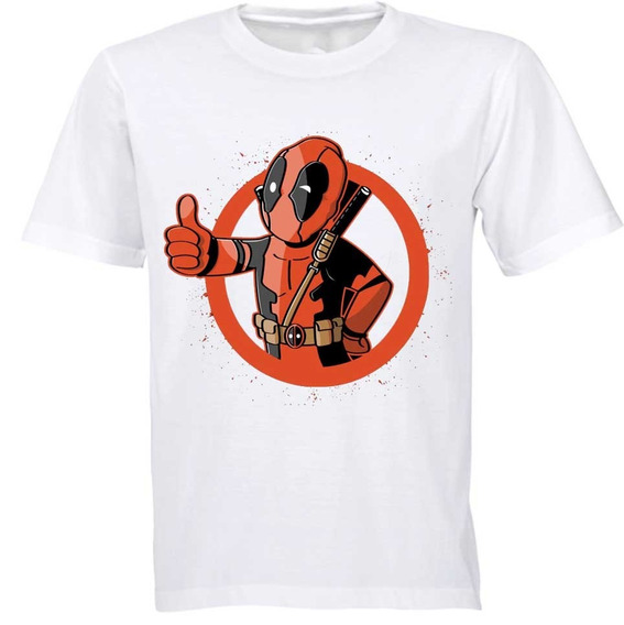 Playera Deadpool Diseños Marvel Superheroes Algodon 2 Beloma
