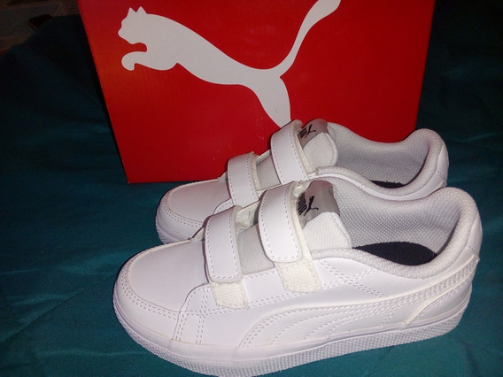 Zapatilla Puma Niño N32 Court Point Vulc V2 Oriyinal !!!!!