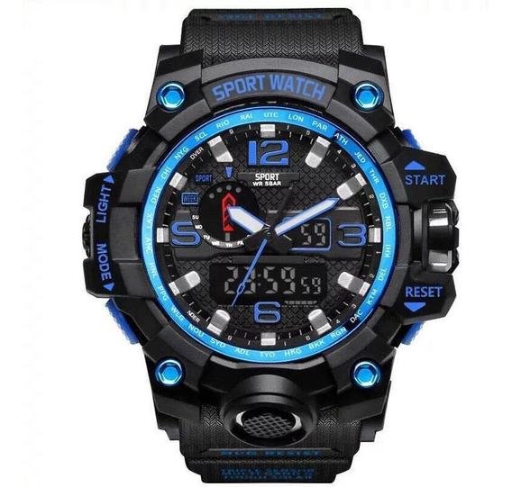 Relógio Masculino Sport Watch Esp Militar Prova D