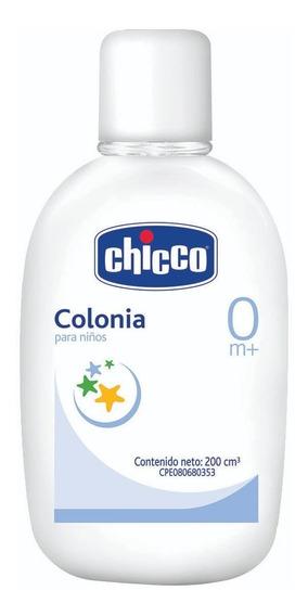 Colonia Para Bebés Chicco Caja 10 Unidades De 200 Cc C/u.