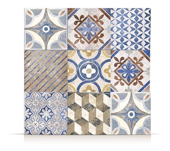 Ceramica Lourdes Calcareo Color 56x56 1era!!