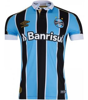 Camisa Nova Oficial Do Grêmio Rio Grande Do Sul - Compre Já