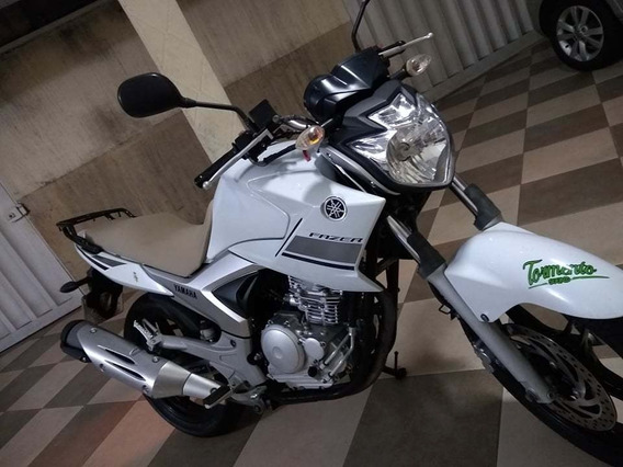 Yamaha Fazer 250 Branca Impecavel