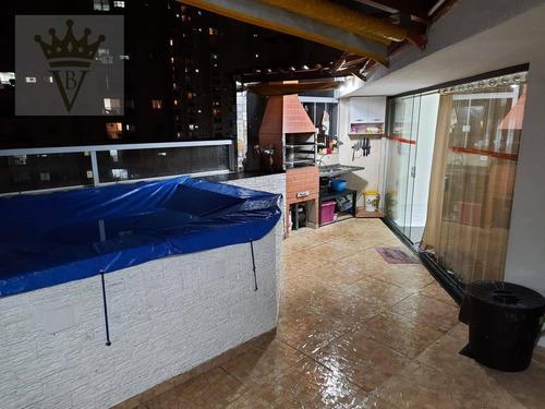 Cobertura Com 3 Dormitórios À Venda, 110 M² Por R$ 600.000,00 - Vila Andrade - São Paulo/sp - Co0124