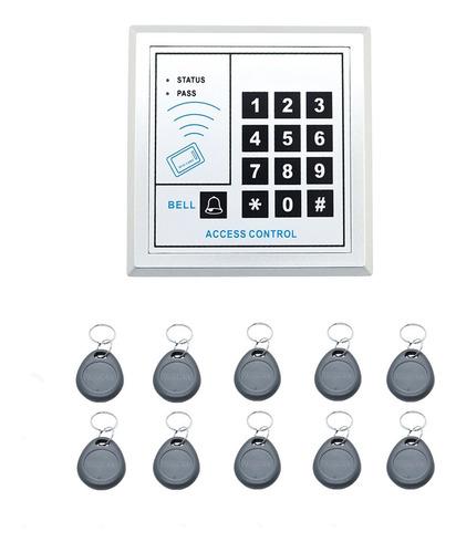 Imagen 1 de 8 de Control Accesos Autonomo Abrepuerta  + 10 Llaveros