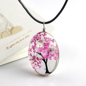 2abb8c24e57d Collar De Rosa Encapsulada - Collares y Cadenas en Mercado Libre México