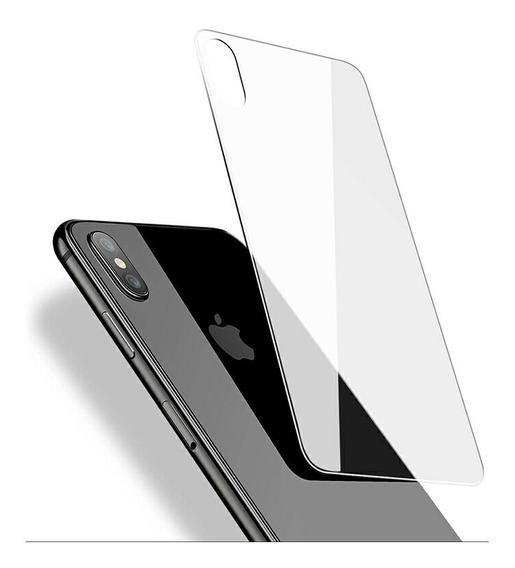 Mica Protectora Cristal Templado Trasera iPhone 10 X