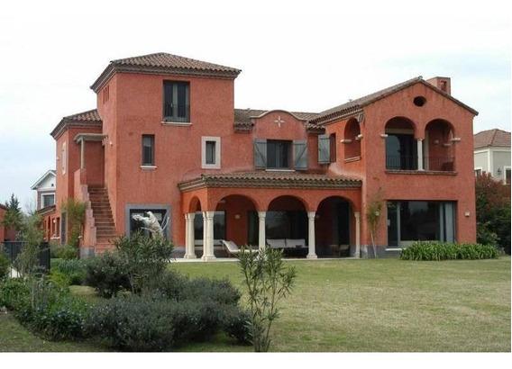 Exclusiva Casa En Alquiler En Martindale Country Club - Mallmann Propiedades