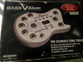 Pedaleira V-amp Bass Lx-1b