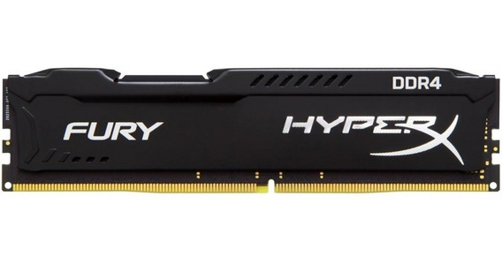 Memória Kingston Hyperx Fury 4gb 2400mhz Ddr4 - Nota Fiscal