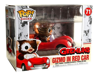 Funko Pop Rides Gremlins Gizmo In Red Car Exclusive