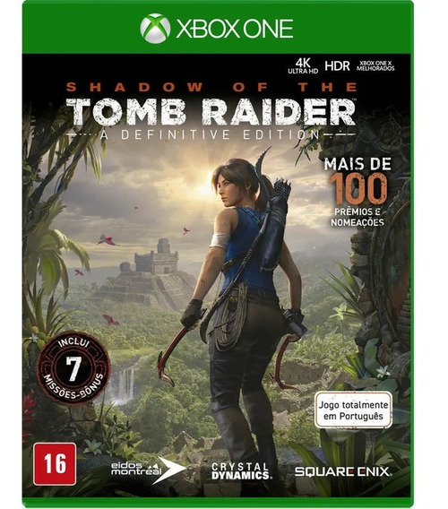 Shadow Of Tomb Raider Xbox One Definitive Edition Português