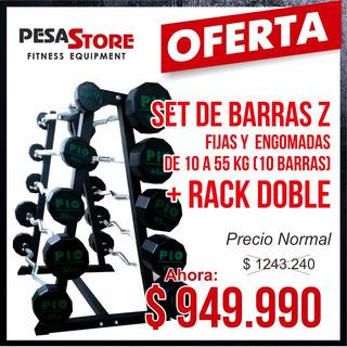 Barras Z Set + Rack