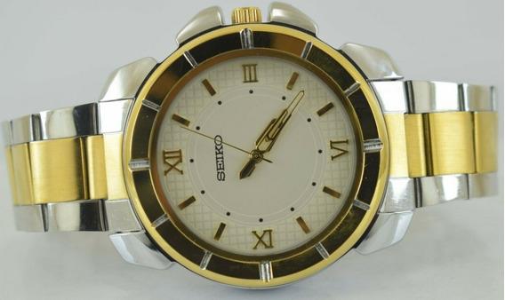 Reloj De Pulsera Seiko Vintage Para Hombre De Cuarzo