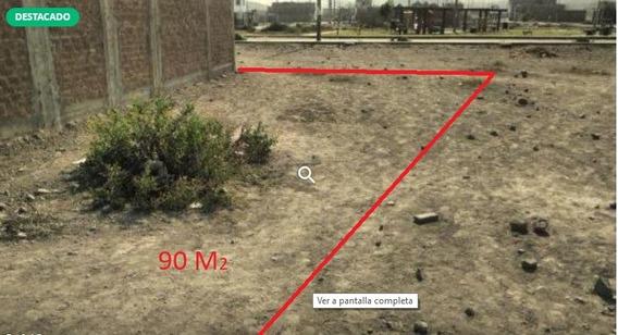 Terreno 90 M2 Santa Maria De Carabayllo