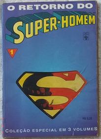 Super-homem 0 Retorno Editora Abril 3 Hq Gibis Formatinho