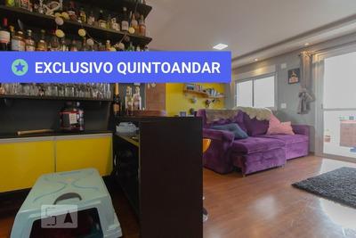 Apartamento No 4º Andar Mobiliado Com 1 Dormitório E 2 Garagens - Id: 892935243 - 235243