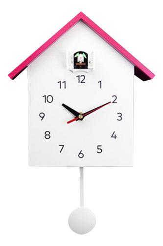 Imagen 1 de 8 de Regalo De Cumpleaños Del Reloj Decorativo Silencioso Rosado