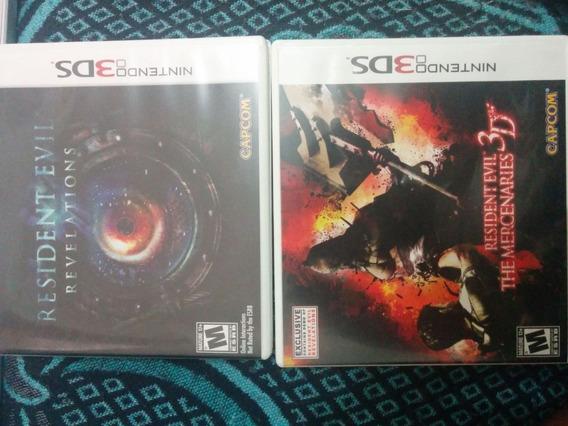 Residetne Evil Revelations E The Mercenaries 3d - Combo.