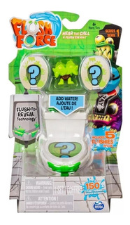 Flush Force Coleccionables Set Inodoro Con 5 Figuras Serie1