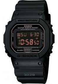 Relógio Masculino Casio G-shock Dw-5600ms-1dr - Original