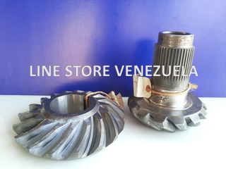 Corona Y Piñon 14x17 Delantero Estria Fina (mack)