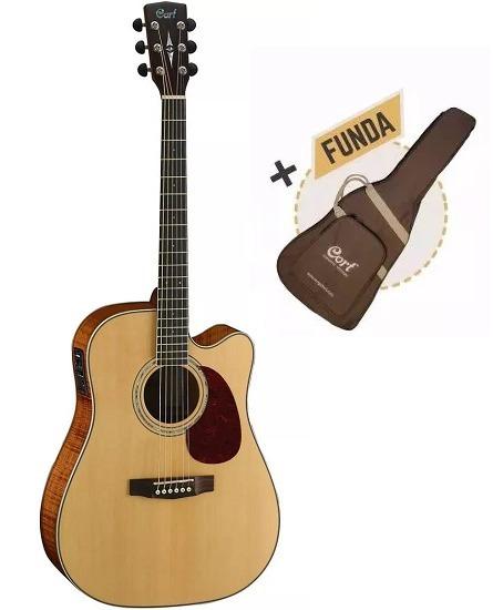 Guitarra Electroacústica Cort Mr710f Ns Eq Fishman Con Funda