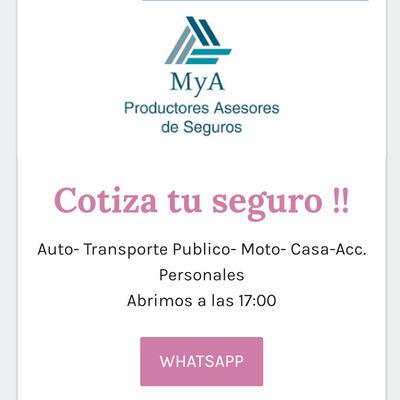 Seguros Automor, Moto, Acc. Personales, Hogar,comercio