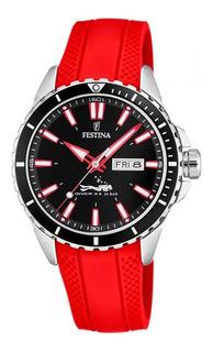 Reloj Festina Hombre F20378.6 Sumergible Buceo Malla Caucho