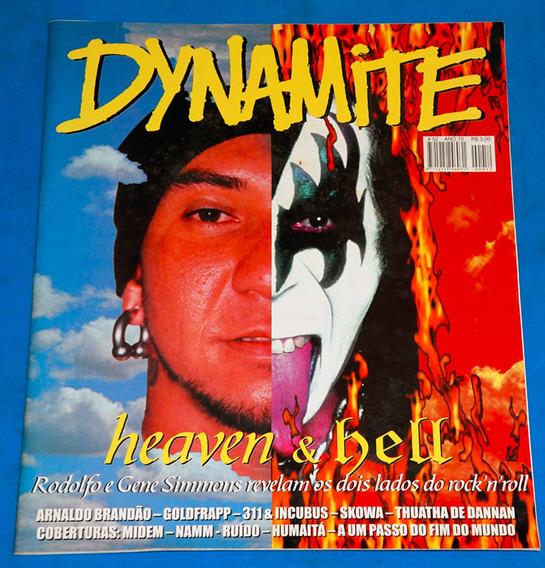 Kiss - Dynamite Ano 10 Nº 52 - Revista - Brasil - 2002