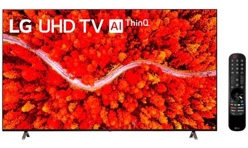 Imagem 1 de 5 de Smart Tv LG Thinq Ai 82 Polegadas Wifi 4k Uhd 82up8050psb