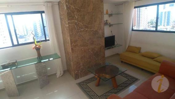 Apartamento Com 3 Dormitórios Para Alugar, 90 M² Por R$ 1.700/mês - Manaíra - João Pessoa/pb - Ap6688