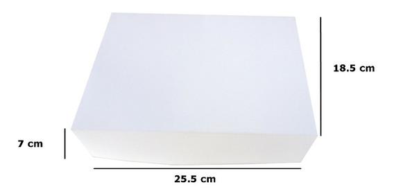10 Caja Para Regalo Blanca 4 Especial