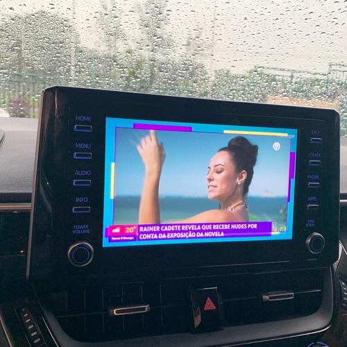 Imagem 1 de 2 de Interface De Desbloqueio Com Tv Hd Toyota Corolla 2019 -2022
