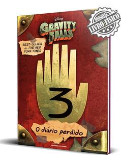 Livro Gravity Falls Diário 3 Dipper Mabel Série Netflix