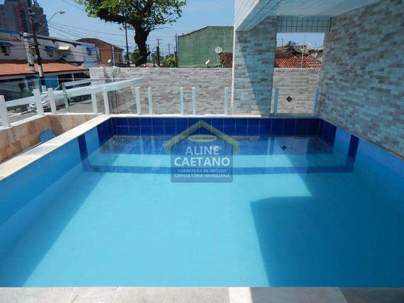Apartamento Com 2 Dorms, Mirim, Praia Grande - R$ 265 Mil, Cod: Ac4197 - Vac4197