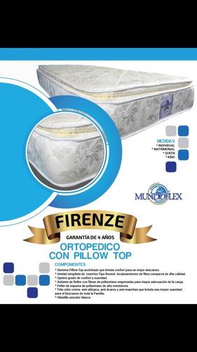 Colchón Individual Ortopédico Con Pillow Mundoflex