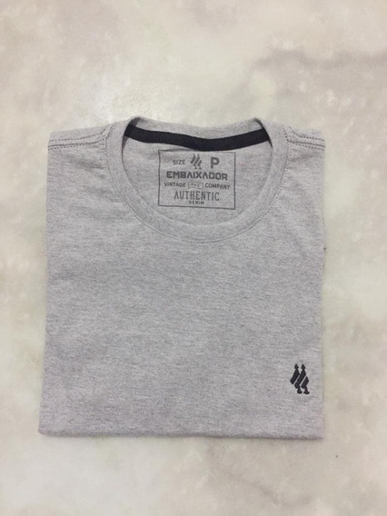 Kit C/ 10 Camisas, Camisetas, T-shorts, 100% Algodão 30.1