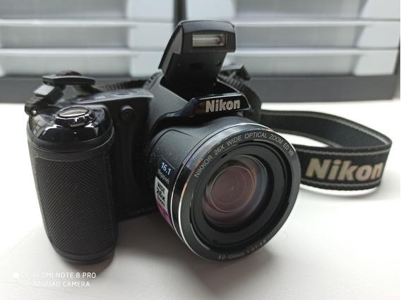 Camera Semi Profissional Nikon Coolpix L320