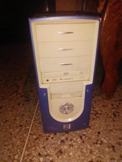 Cpu Pentium 4 Intel Con 1gb Ram Disco Duro 80 Gb Y Windows 7