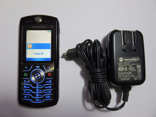 Celular Motorola L6 Preto Em Perfeito Estado Raridade